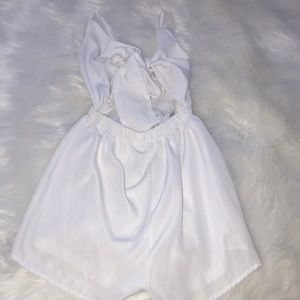 White Fox Boutique Other - White Playsuit!☁️